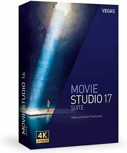 VEGAS Movie Studio Suite 17 1PC Win10 64 bits, Licence Perpétuelle, Multilingue