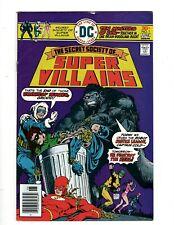 12 Secret Society Of Super Villains DC Comics # 1 2 3 4 5 6 7 8 9 10 11 12 GK34