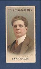 MASCAGNI Pietro ITALIAN VERISMO Operatic Composer 1914  CAVELLERIA RUSTICANA