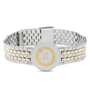 Bioflow Magnetic Therapy Two Tone Elite Bracelet - From Bioflow Direct