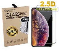 Tempered Glass Screen Protector for iPhone XS Max - Clear Flexible Shatterproof