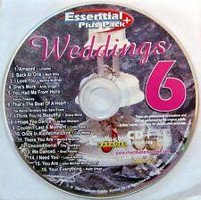 Chartbuster Karaoke - ESP463 CDG - Disc 6 - Wedding Collection