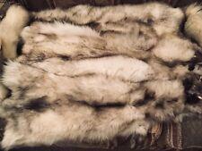 Soft Tanned Garment Quality Blue Fox Skin Hide Pelt Fur
