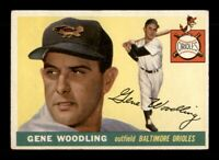 1955 Topps Set Break # 190 Gene Woodling VG-EX *OBGcards*