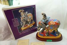 Emmett Kelly Jr Figurine Grand Parade Elephant Ltd Ed Coa 550/1500 Mib 13in Tall