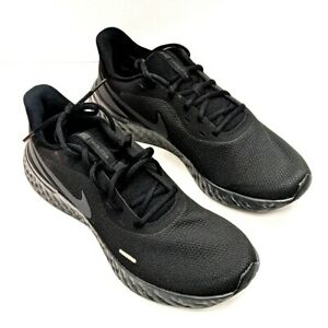 Men's Nike Revolution 5 Running Shoes Black Size 11