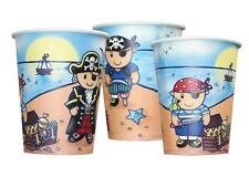 Lovely Chubblies 8 Pack Pirate Paper PARTY Cups New