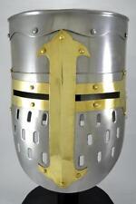 Knights Templar Crusader Helmet Medieval Armor Roman knight Helmet for sale