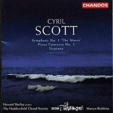 Cyril Scott : Symphony No. 1 the Muses, Neptune (Brabbins, Bbcpo, Shelley) CD