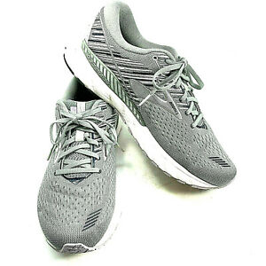Brooks Adrenaline GTS 19 Gray Running Shoes Men's US 10 Womens 11.5 EU 44 UK 9.5