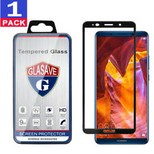 GLASAVE FULL COVER Tempered Glass Screen Protector For Huawei Mate 10 Pro