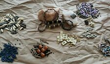 1lb Lot Variety Loose tribal ethnic cultural beads Jewelry making variety colors