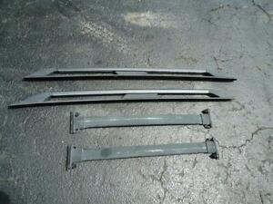 2008-2012 Ford Escape Mariner Roof Rack Complete Satin Chrome Side Rails