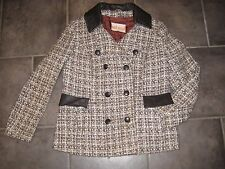 Women's Wool Blend Tailored Basic Vintage Coats & Jackets