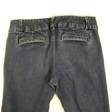 "The Limited Womens 678 Trouser Sz 8R Flare Leg Jeans Blue Stretch 29"" Inseam"
