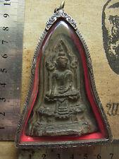 Phra Konsamor Near Din Phim Pangman Wichai Kru Wangna  Buddha 3-400 yr  Amulet