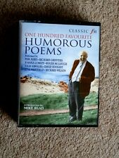 ONE HUNDRED FAVOURITE HUMOROUS POEMS      - AUDIO BOOKS  -   ( 4 CASSETTES  )