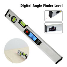 Digital Angle Finder 400mm Metre Protractor Bubble Spirit Level+4 Strong Magnets