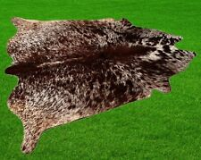 """100% New Cowhide Rugs Area Cow Skin Leather (55"""" x 57"""") Cow hide SA-1058"""