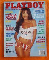 PLAYBOY MENS MAGAZINE AUGUST 1996 JESSICA LEE HEIDI FLEISS SHAQ LEEANN TWEEDEN