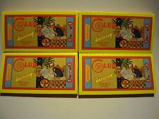 Club SD Modiano ORIGINAL CABARET WIDTH Cigarette Rolling Papers VINTAGE 4 packs