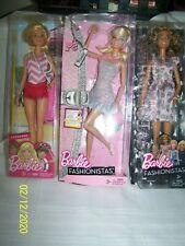 "(3) Barbie Dolls ""1 Barbie Lifeguard, 2 Fashionistas, Dyy97 & W3901"