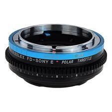 Fotodiox objetivamente adaptador vizelex polar Canon FD lens to Sony Alpha e-Mount