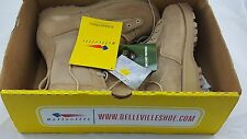 8W  790G Belleville Desert Tan Army Combat Goretex Military GI Boots with Vibram