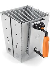 76356 Collapsible Camping Grill and Chimney Starter