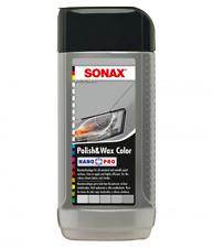 SONAX Polish & Wax COLOR NanoPro silver/grey 500ml 296.341