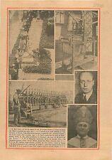 Président Albert Lebrun Légion d'Honneur Ecole des Beaux-Arts 1934 ILLUSTRATION