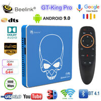 Beelink GT-King Pro Smart Android TV Box Hi-Fi 4K S922X-H 4G+64G BT Voice Remote