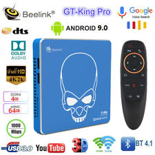 Beelink GT-King Pro WiFi6 Android TV Box Hi-Fi 4K S922X-H 4G+64G BT Voice Remote
