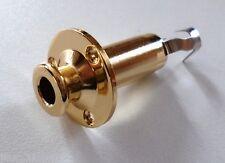 NEW Output Jack Cylindre gold pour guitare basse ou autre