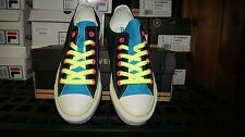 Converse Chuck Taylor All Star Double Tongue Ox Sz 7 9 10 Black Blue Shoes
