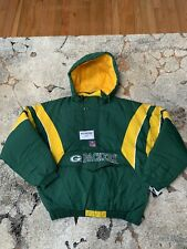 NWT Vintage Green Bay Packers Starter Jacket Size XL 100% Authentic