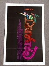 Cabaret 1 SH Original Movie Poster Lisa Minelli Bob Fosse Music 1971