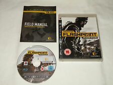 PS3 GAME OPERATION FLASHPOINT DRAGON RISING with Booklet (2009) (UK Region 2).