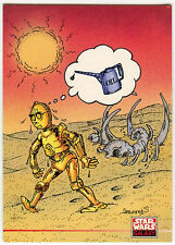 Star Wars Galaxy Series 2 #208 C-3PO Card (C91)