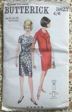 Butterick Quick 3823 Short Sleeve Slim Skirted Dress & Jacket Size 20 Bust 40