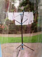 JVL 3 ARM 16M PORTABLE ROTARY CLOTHES WASHING LAUNDRY LINE AIRER