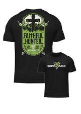 BOWADX- Faithful Hunte BOWHUNTING T Shirt (Hoyt, Mathews, New Breed, PSE, Elite)