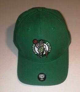 NBA Boston Celtics Fitted Hat Cap OSFA Hook & Loop Embroidered NWOT