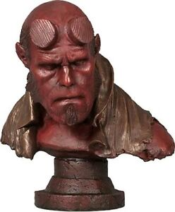 SIDESHOW 1:1 HELLBOY LIFE SIZE #  LOW # FAUX BRONZE FACTORY SEALED SHIPPER
