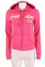 HOLLISTER Womens Hoodie Sweater Size 14 Medium Pink Cotton  EN12