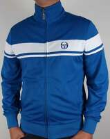 Sergio Tacchini Masters II Track Top in Royal & White - McEnroe tennis 80 casual