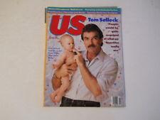 Tom Selleck, Pam Dawber, Christian Lacroix - Us Magazine 1987