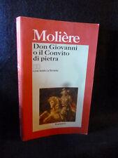 Molière - Don Giovanni o Il convito di pietra - Garzanti 2005 - 9788811365204