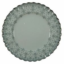 SPODE china FLEUR DE LYS Y7515 Grey SALAD PLATE 8""