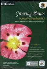 Growing Plants, Interactive Encyclopaedia 3, PC, XP NEW